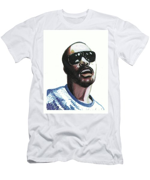 Stevie Wonder Men's T-Shirt (Athletic Fit)