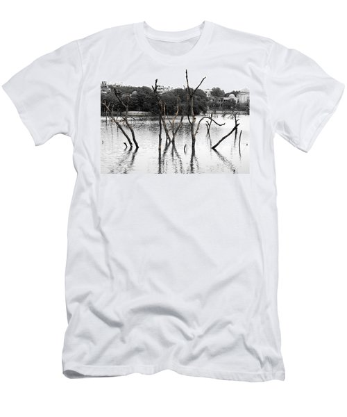 Stomps Of Trees In A Lake Men's T-Shirt (Athletic Fit)