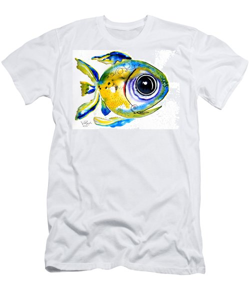 Stout Lookout Fish Men's T-Shirt (Athletic Fit)