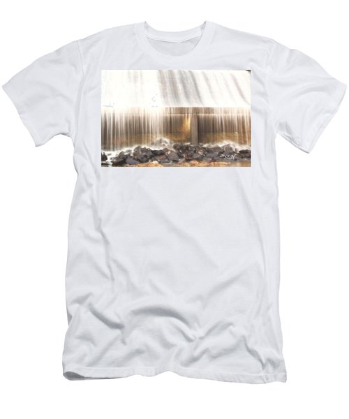 Streams Of Light Men's T-Shirt (Athletic Fit)