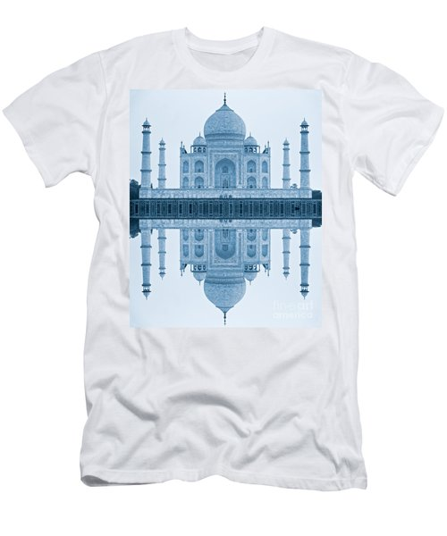 Men's T-Shirt (Slim Fit) featuring the photograph Taj Mahal by Luciano Mortula