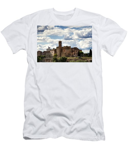 Temple Of Venus And Roma Men's T-Shirt (Athletic Fit)