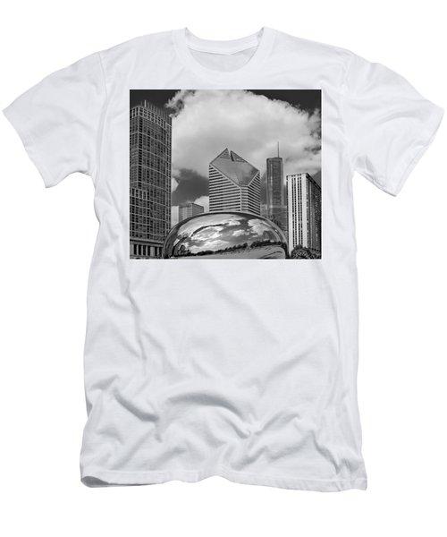 The Bean Chicago Illinois Men's T-Shirt (Athletic Fit)