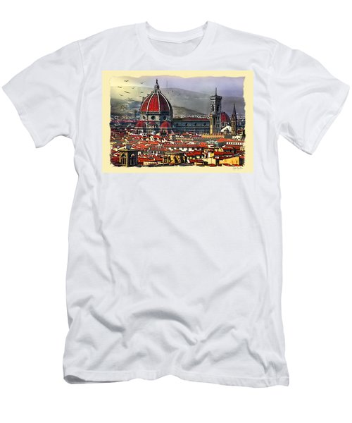 The City Of Florence Men's T-Shirt (Athletic Fit)
