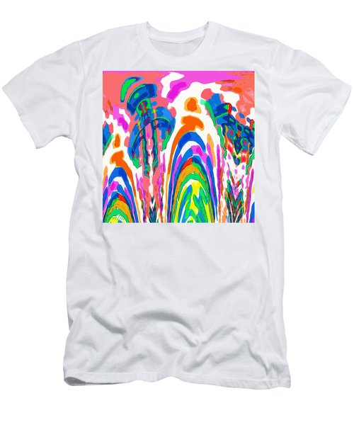 The Colors Fountain Men's T-Shirt (Athletic Fit)
