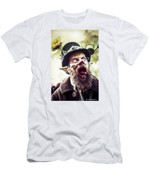 Men's T-Shirt (Athletic Fit) featuring the photograph The Fool Goblin by Stwayne Keubrick