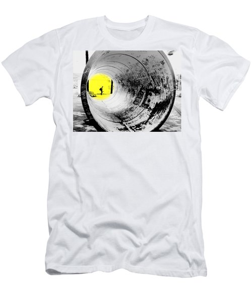 The Light At The End Of The Tunnel Men's T-Shirt (Athletic Fit)