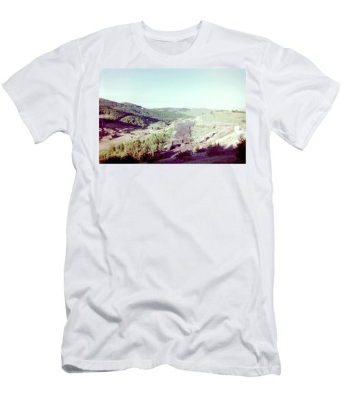 Men's T-Shirt (Slim Fit) featuring the photograph The Mine by Bonfire Photography