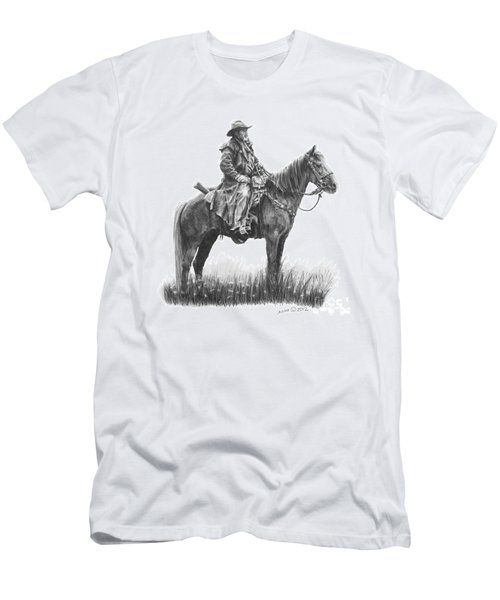 Men's T-Shirt (Slim Fit) featuring the drawing the Quest by Marianne NANA Betts