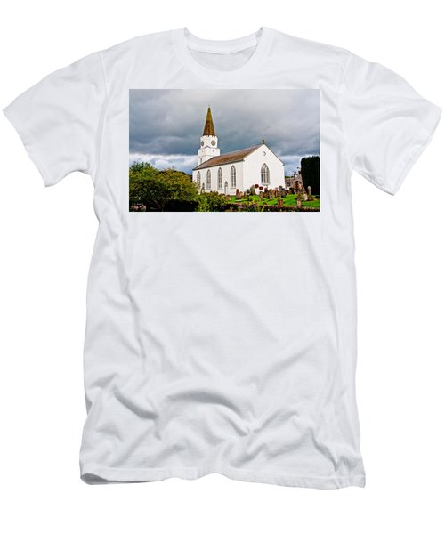 The White Church Men's T-Shirt (Athletic Fit)