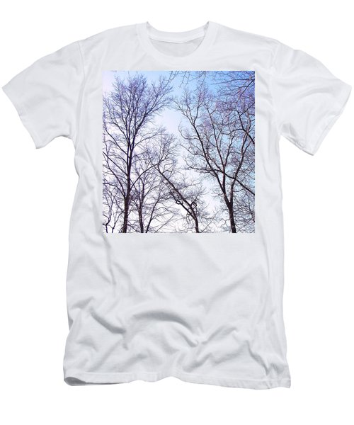 Men's T-Shirt (Slim Fit) featuring the photograph Through To Heaven by Pamela Hyde Wilson
