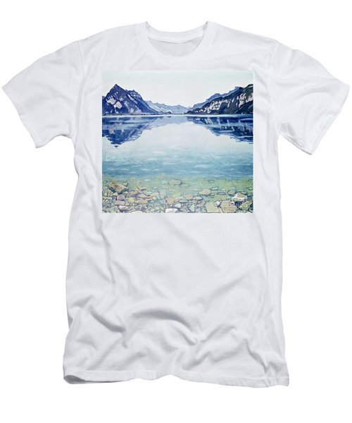 Thunersee Von Leissigen Men's T-Shirt (Athletic Fit)
