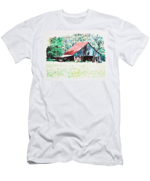 Tobacco Barn Men's T-Shirt (Athletic Fit)