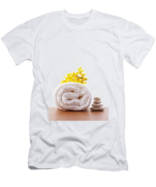 Towel Roll Men's T-Shirt (Slim Fit) by Atiketta Sangasaeng