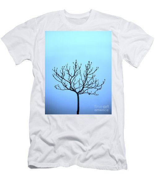 Tree With The Blues Men's T-Shirt (Athletic Fit)