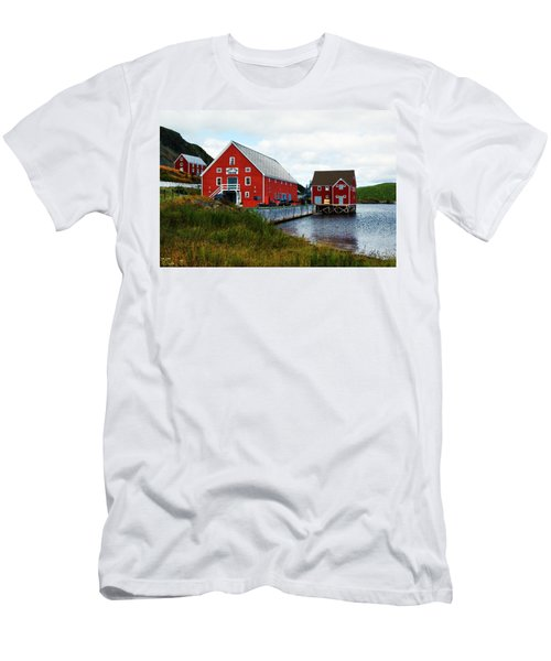 Trinity II Men's T-Shirt (Slim Fit) by Leanna Lomanski
