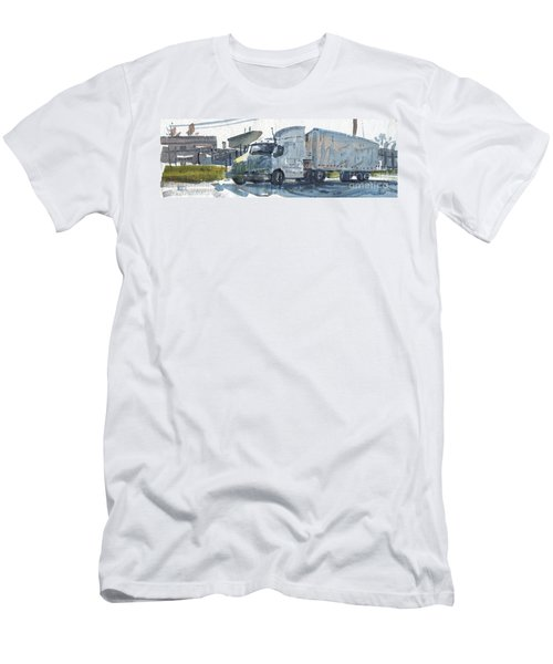 Truck Panorama Men's T-Shirt (Athletic Fit)