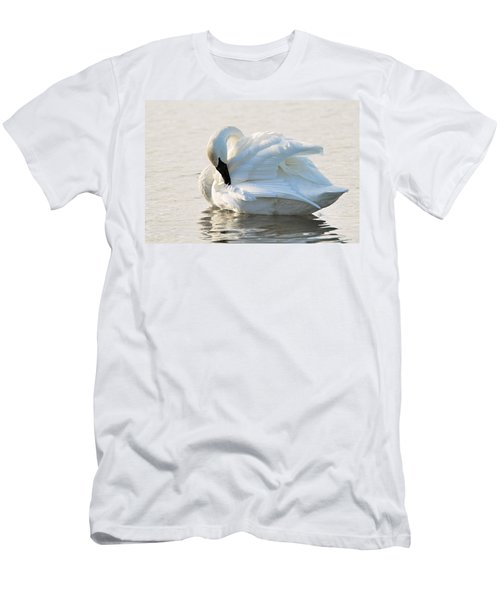 Tumpeter Swan Men's T-Shirt (Athletic Fit)