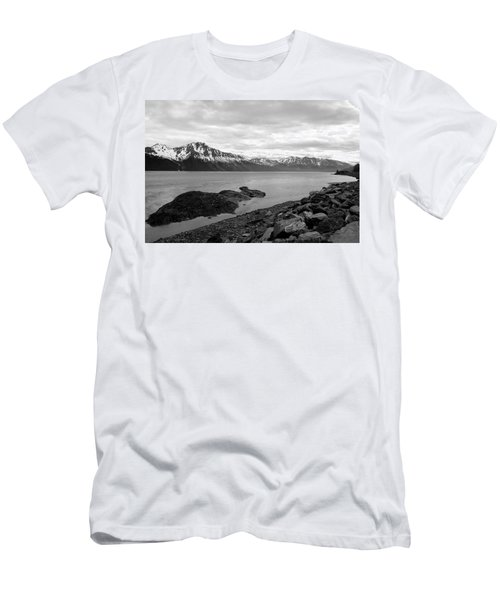 Turnagain Arm Alaska Men's T-Shirt (Athletic Fit)