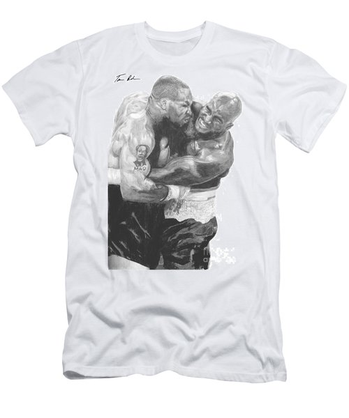 Tyson Vs Holyfield Men's T-Shirt (Athletic Fit)
