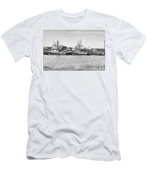 Men's T-Shirt (Slim Fit) featuring the photograph Waiting by Eunice Gibb
