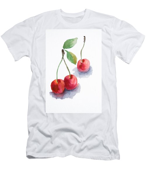 Watercolor Cherry  Men's T-Shirt (Athletic Fit)