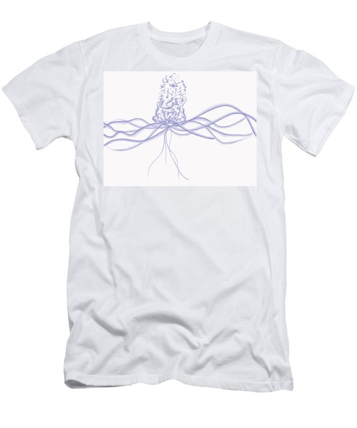 Waveflower Men's T-Shirt (Athletic Fit)