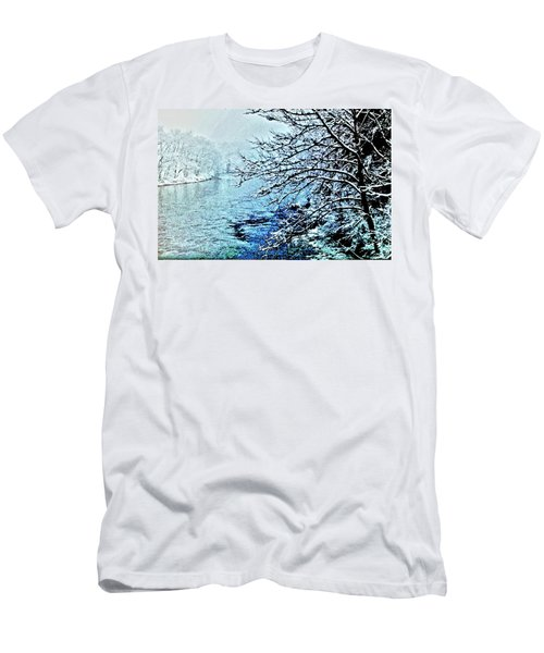 West River Snow Men's T-Shirt (Athletic Fit)