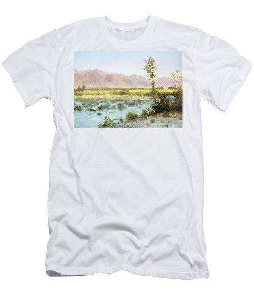 Western Landscape Men's T-Shirt (Athletic Fit)