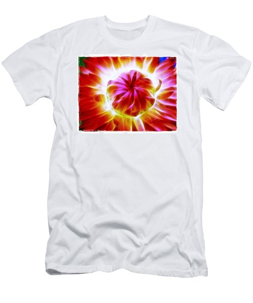 Men's T-Shirt (Slim Fit) featuring the photograph Whirling by Judi Bagwell