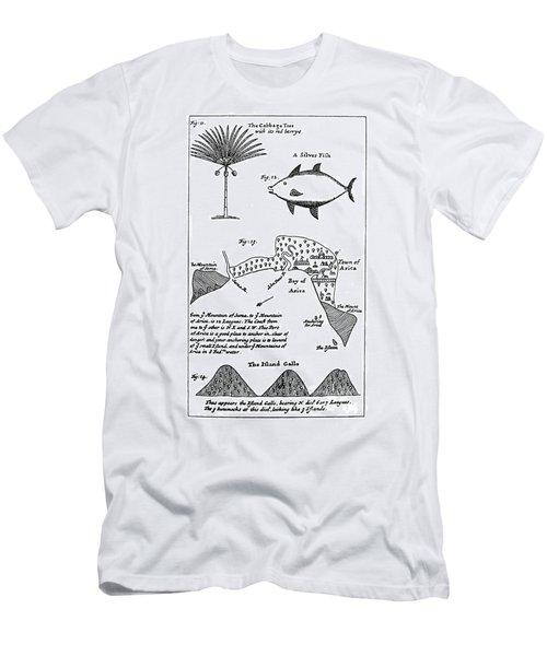 William Dampier (1652-1715) Men's T-Shirt (Athletic Fit)