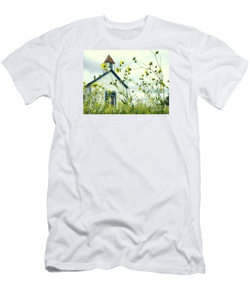 Willkommen Hier Men's T-Shirt (Slim Fit) by Joe Jake Pratt