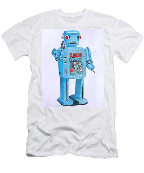 Wind-up Robot Men's T-Shirt (Athletic Fit)
