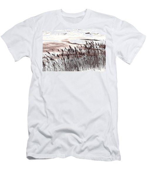 Winter Grasses Men's T-Shirt (Athletic Fit)