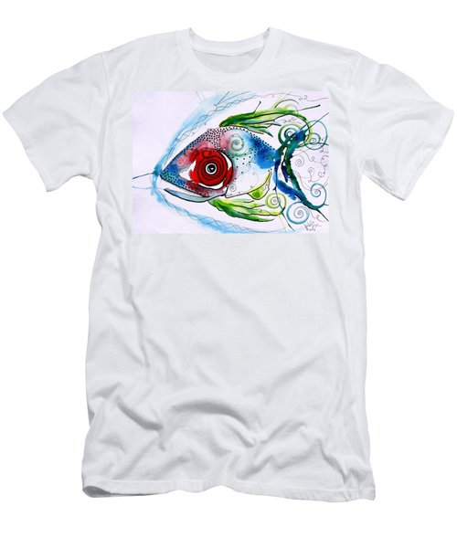 Wtfish 001 Men's T-Shirt (Athletic Fit)