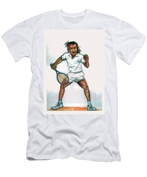 Yannick Noah Men's T-Shirt (Athletic Fit)
