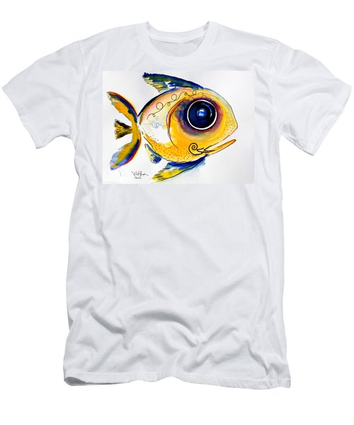 Yellow Study Fish Men's T-Shirt (Athletic Fit)