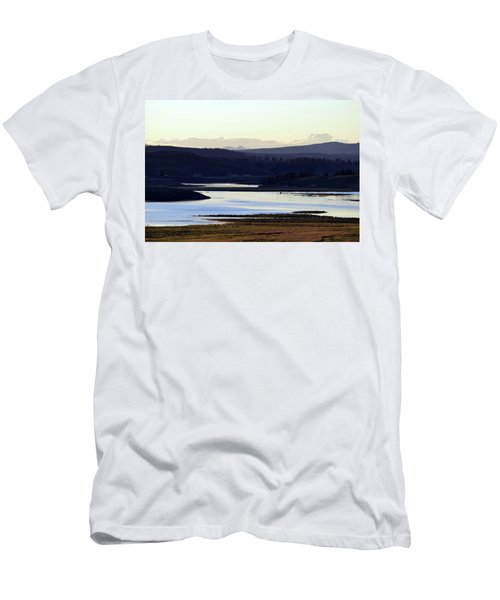 Yellowstone Landscapes Men's T-Shirt (Athletic Fit)