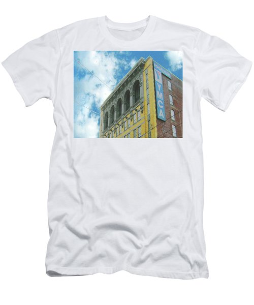 Men's T-Shirt (Slim Fit) featuring the photograph Ymca by Lizi Beard-Ward