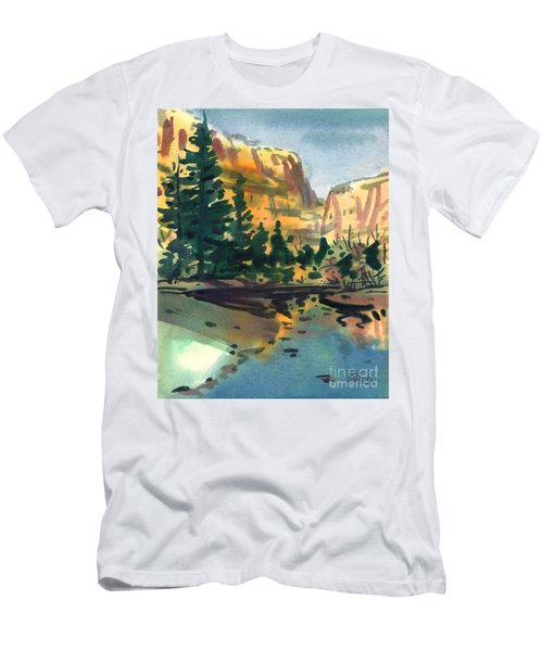 Yosemite Valley In January Men's T-Shirt (Athletic Fit)