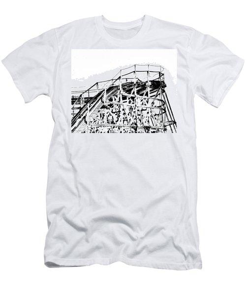 Zippin Pippin Men's T-Shirt (Slim Fit) by Lizi Beard-Ward