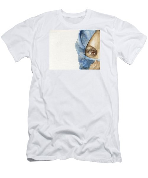 Men's T-Shirt (Slim Fit) featuring the painting  Esther by Annemeet Hasidi- van der Leij