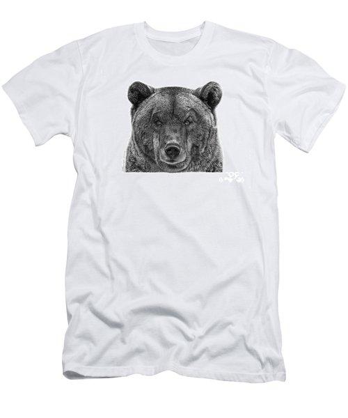 045 Papa Bear Men's T-Shirt (Slim Fit) by Abbey Noelle