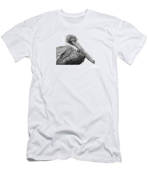 047 - Sinbad The Pelican Men's T-Shirt (Slim Fit) by Abbey Noelle