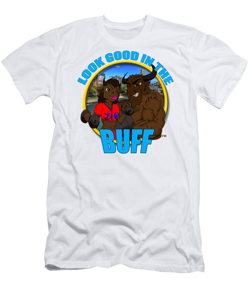 09 Look Good In The Buff Men's T-Shirt (Athletic Fit)