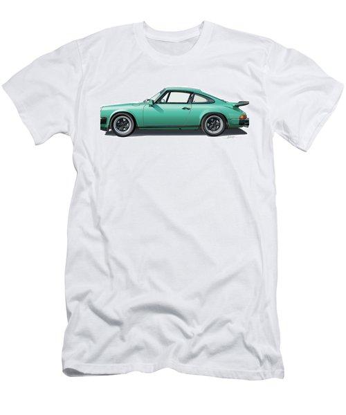 1976 Porsche Euro Carrera 2.7 Illustration Men's T-Shirt (Athletic Fit)
