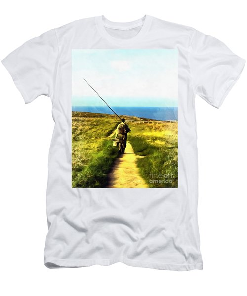 A Plaice To Fish Men's T-Shirt (Athletic Fit)