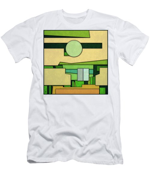 Abstract Cubist Men's T-Shirt (Slim Fit)