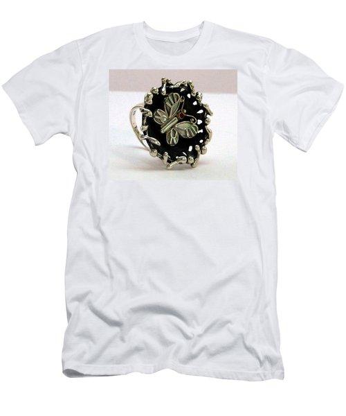 Acrea Viola Men's T-Shirt (Slim Fit) by Mikhail Savchenko