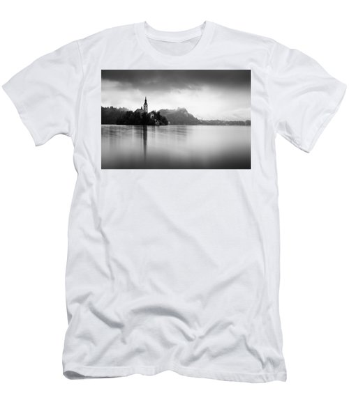 After The Rain At Lake Bled Men's T-Shirt (Athletic Fit)